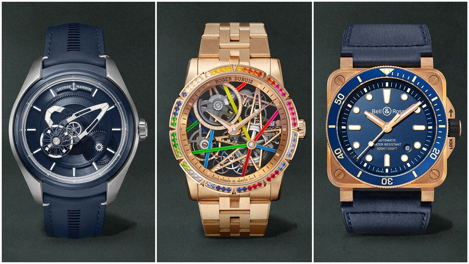 Three Watches To Brighten Up Any Winter's Day