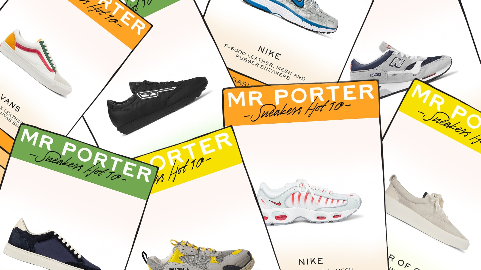 The Best Sneakers For Men Right Now